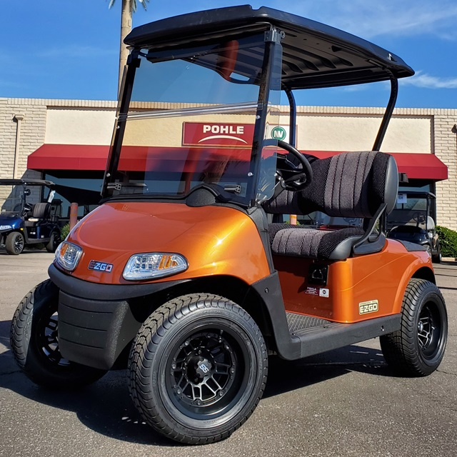 EZGO RXV Freedom Sunburst Orange!