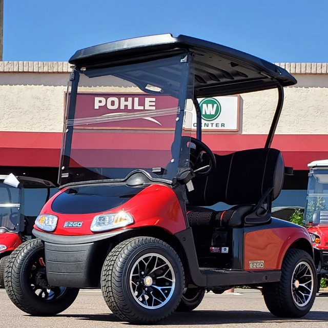 EZGO RXV RED & BLACK TWO-TONE