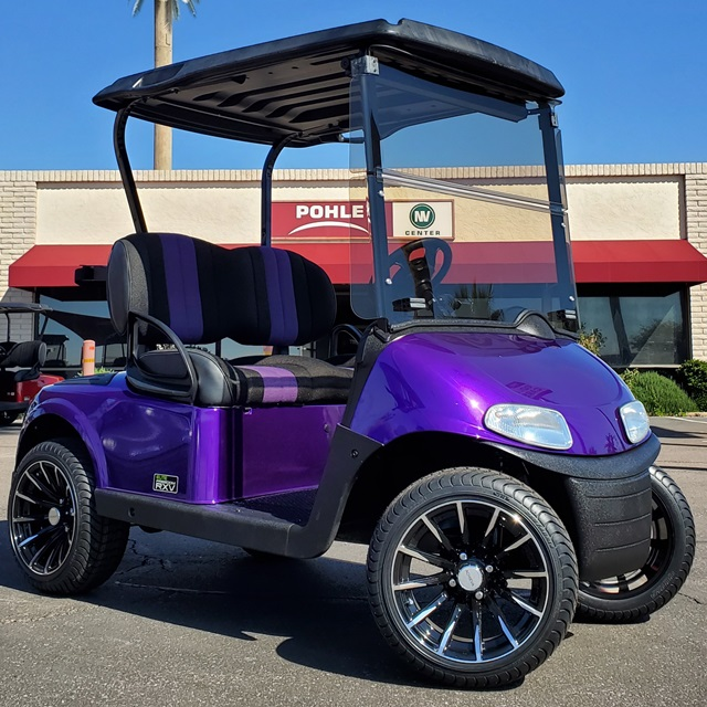 EZGO RXV Elite Freedom Deep Burple!