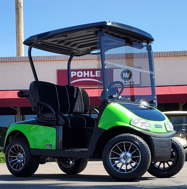 EZGO RXV Elite Freedom MONSTER GREEN/BLACK TWO TONE