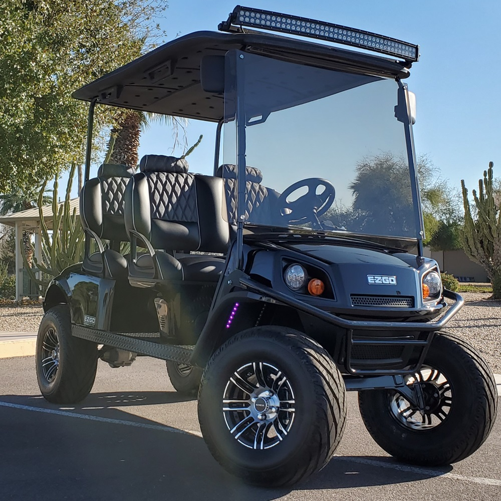 EZGO EXPRESS L6 Alaska Full Custom