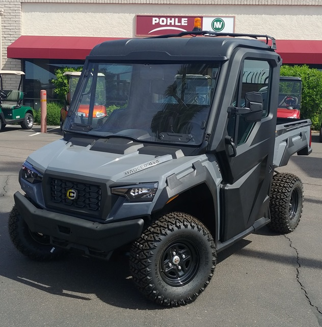 CUSHMAN HAULER 4x4 Factory Order.  Shown with Optional Content - 34