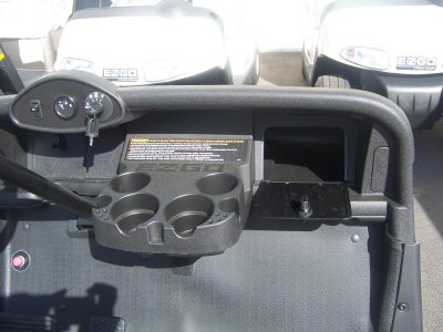 Picture of Factory Color Glove Box Open