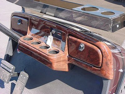 Picture of Woodgrain Glove Box