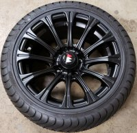 "Picture of J ALL BLACK 14"" Alloy Wheel"