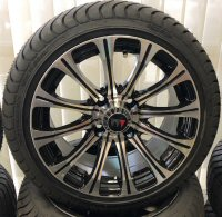 "Picture of J Silver-Black 14"" Alloy Wheel"
