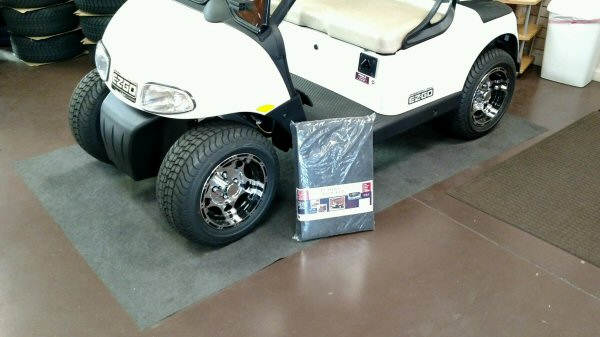 Picture of Golf Car Floor Protecting Buddle Blocker