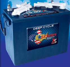 Picture of 12 Volt Golf Car Deep Cycle Battery