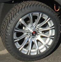 Picture of P Series 12 inch Alloy Wheels