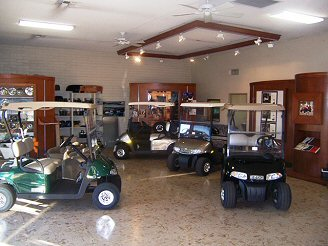 Picture of Show Room at Pohle Neighborhood Vehicles Store in Sun City, Arizona